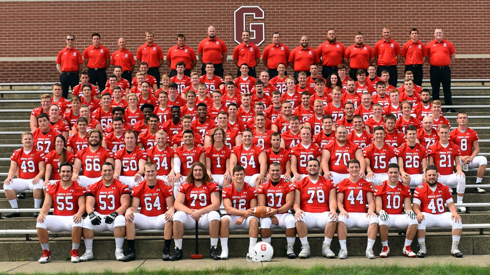 2018 Football Roster Grove City College Athletics